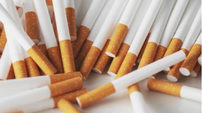 pile of lose cigarettes
