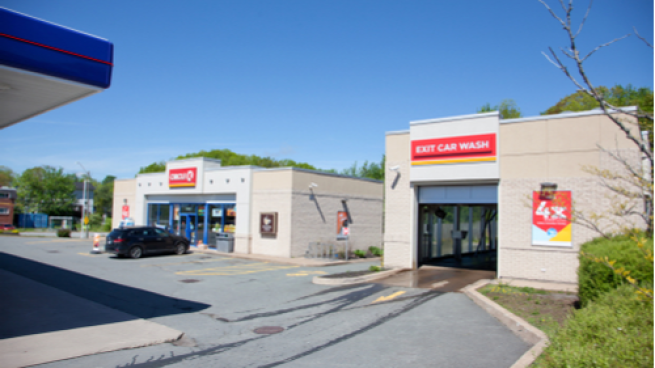 Circle K store and car wash in Sackville NB