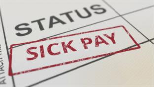 Status sick pay illustration