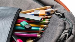 vaping items in school bag