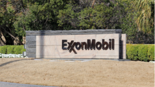 Exxon sign in front of office