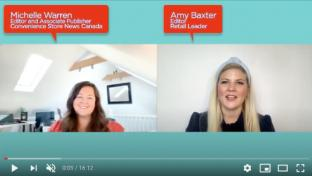 Trend Talk screen grab with Michelle Warren and Amy Baxter