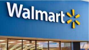 Walmart store front